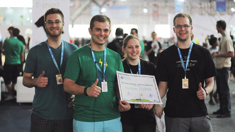FoodLoop on participating and winning the Smart Business & Industry Challenge - FIWARE