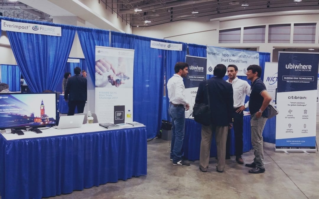 FIWARE at GCTC Expo 2017