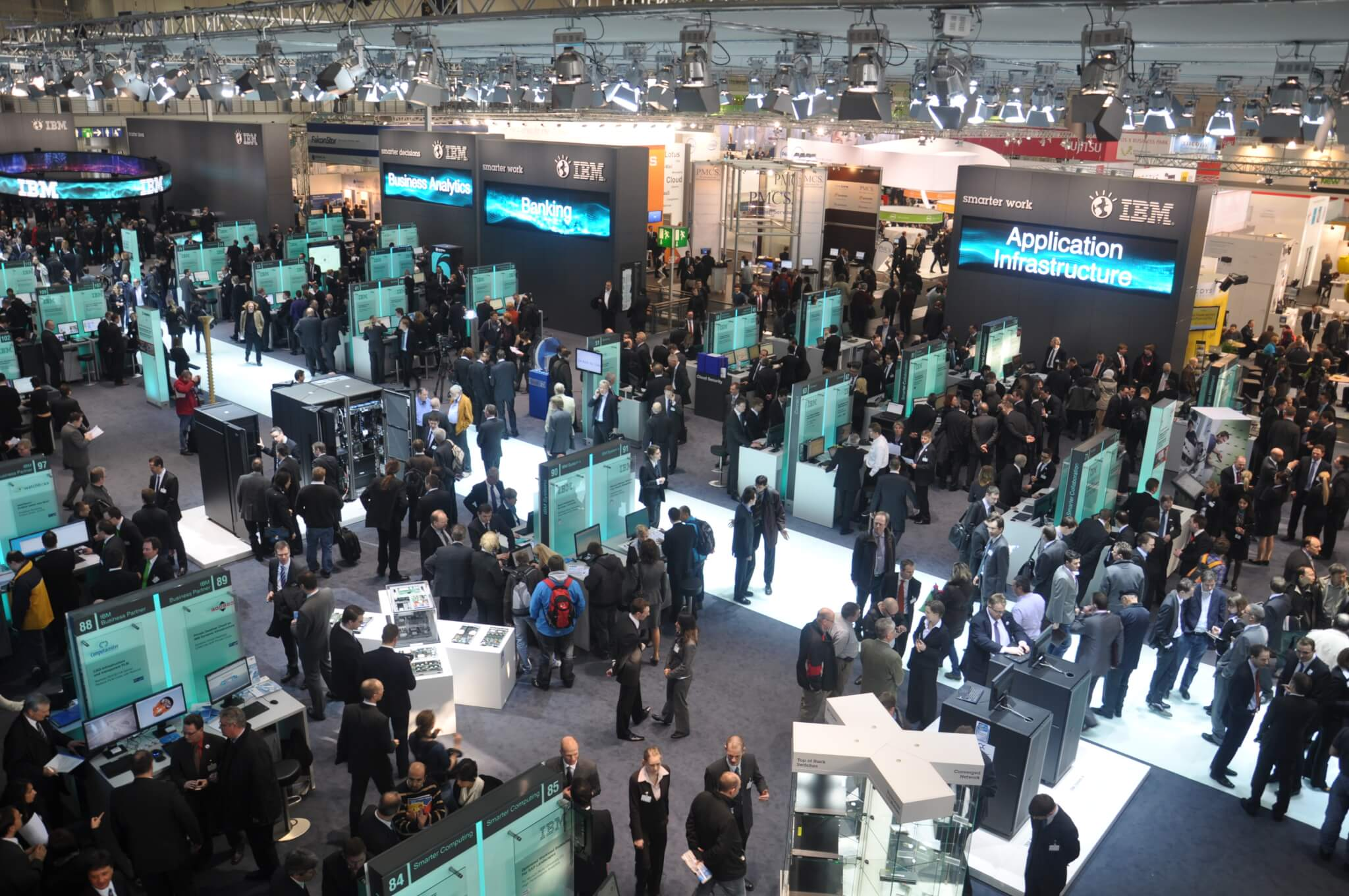 One Of The World's Largest IT Trade Show – Cebit – is Being