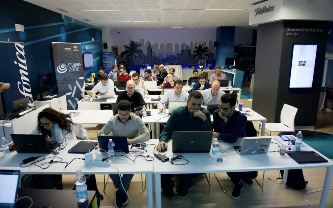 FIWARE Zone Concludes its 1st International FIWARE Bootcamp With Newly Certified FIWARE Experts